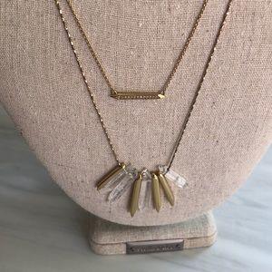 Rebel Cluster 2 in 1 Necklace